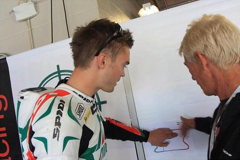 2010 Leon Camier lands himself a factory WSBK ride with Team Aprillia