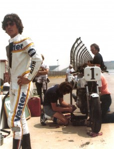 At Ontario Raceway 1978